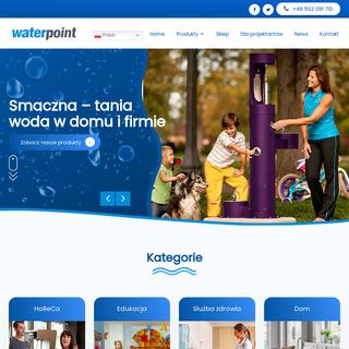 WATERPOINT → Dystrybutor wody • Poidełka • Cosmetal • Elkay Polska