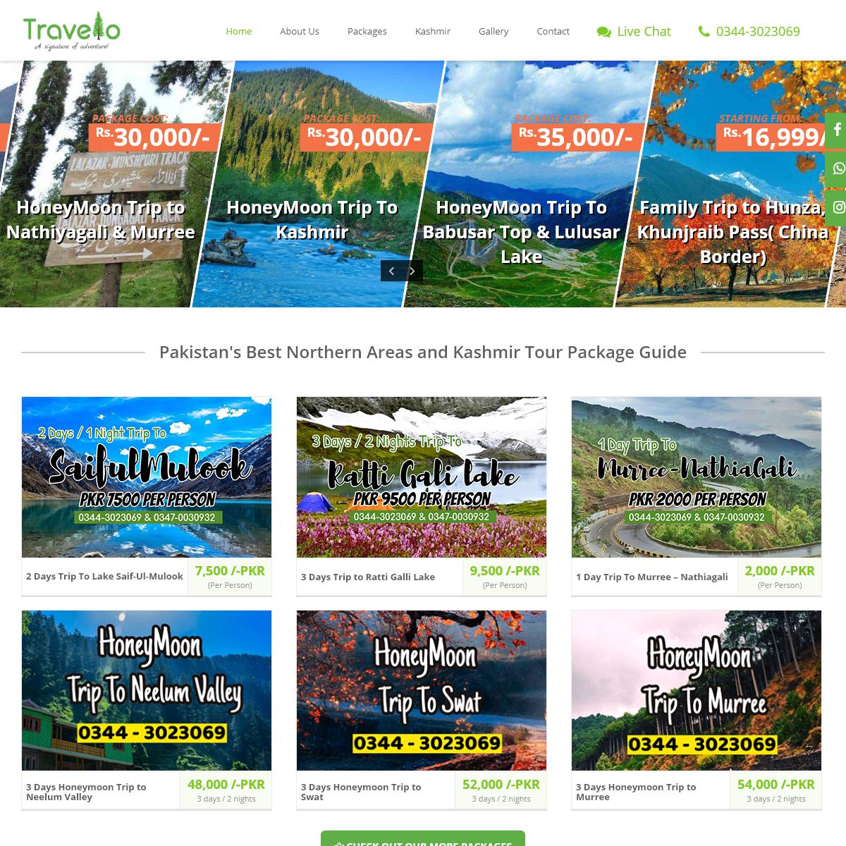 Pakistan Tour Packages - Best Kashmir Snow Trip & Holidays Tourism
