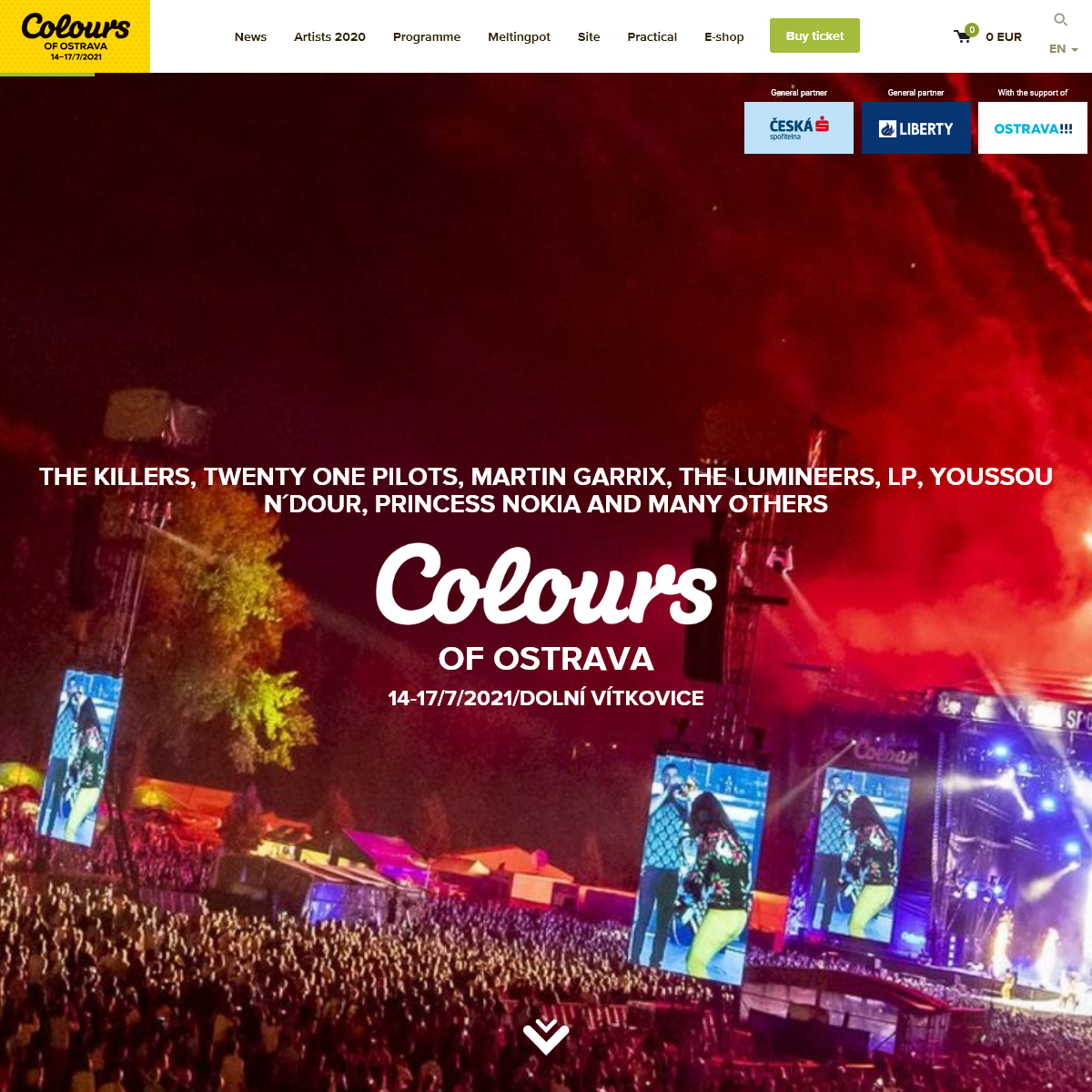 Colours of Ostrava - Home