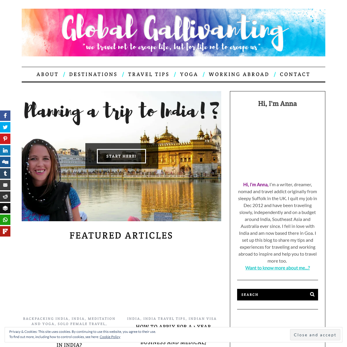 Global Gallivanting Travel Blog - Global Gallivanting Travel Blog