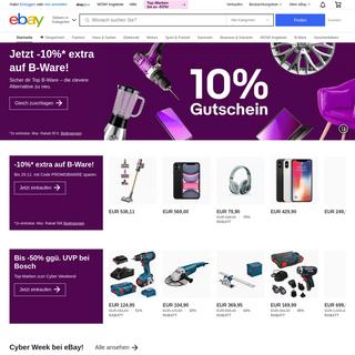 Elektronik, Autos, Mode, Sammlerstücke, Möbel und mehr Online-Shopping - eBay