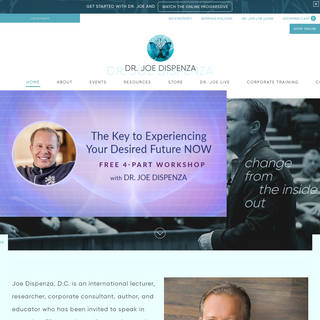 The Official Website of Dr. Joe Dispenza