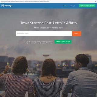 Stanze e Posti Letto in affitto in Tutta Italia - Roomgo
