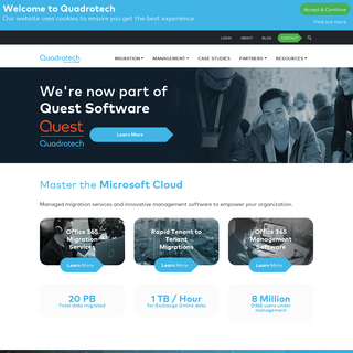 Quadrotech - Empowering You to Master the Microsoft Cloud