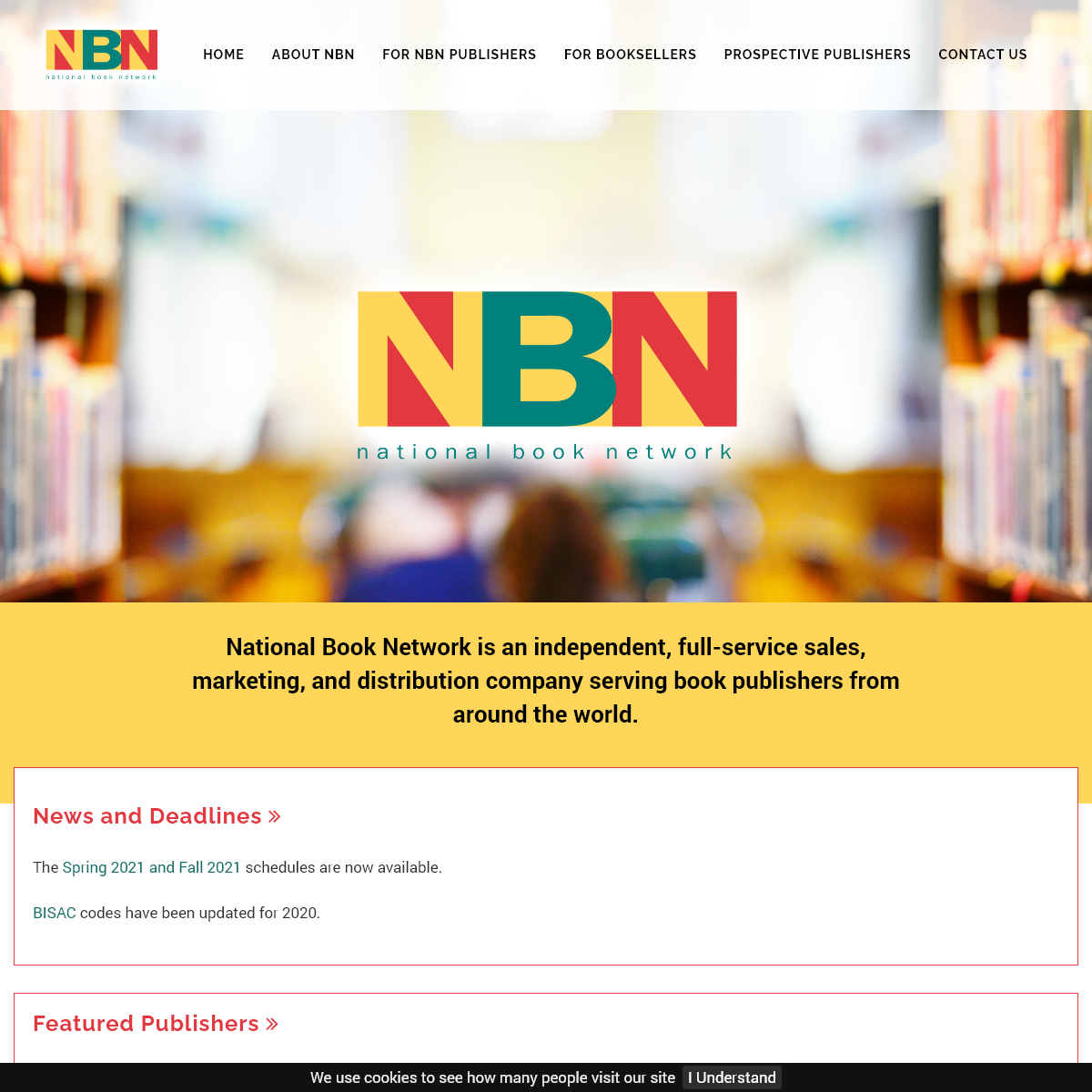 Book Distribution and Publisher Services - National Book Network