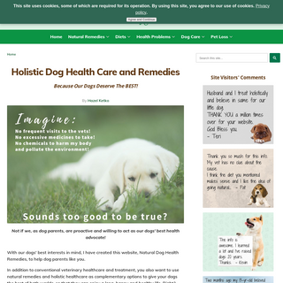 Natural Dog Health Remedies - Holistic Dog Care