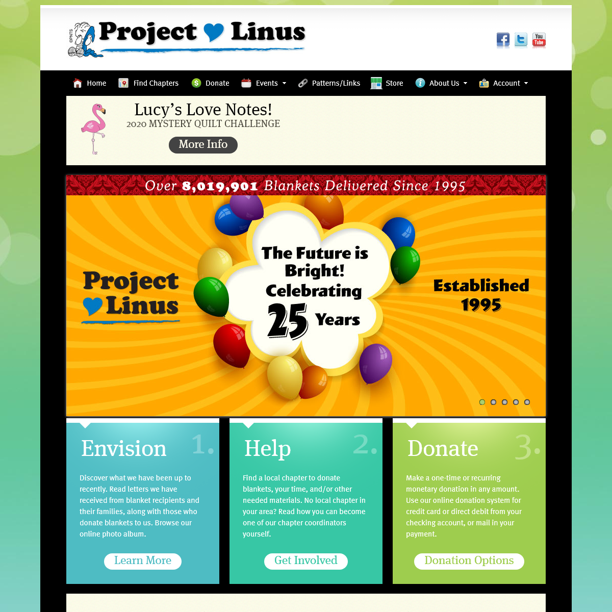 Project Linus-Home