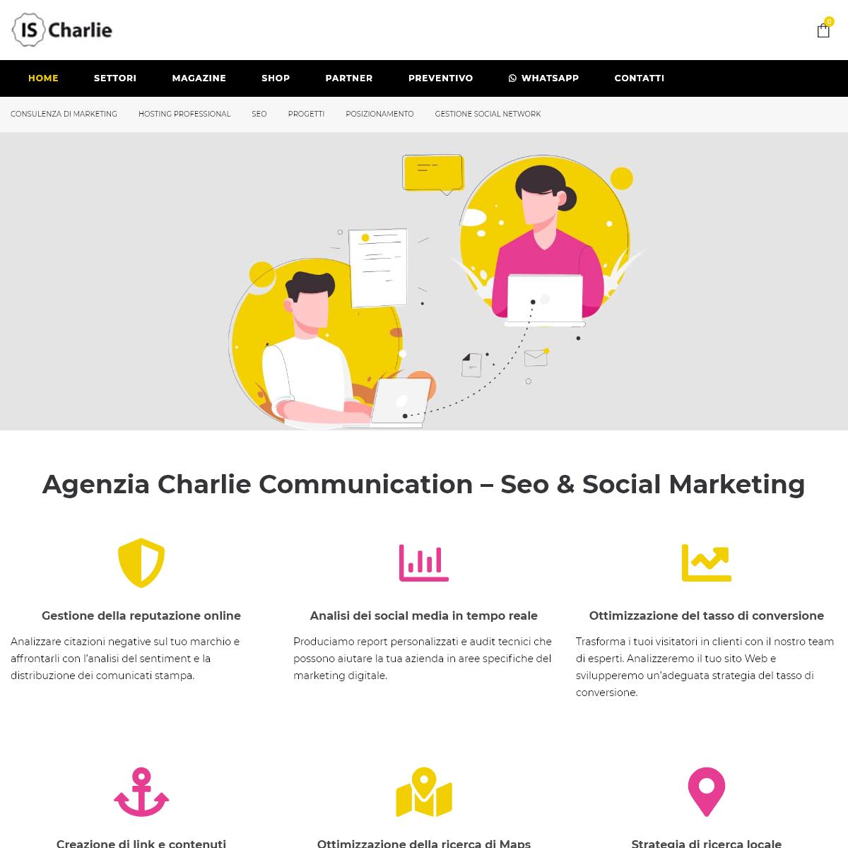 Charlie Communication – web & Social Marketing