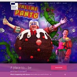 Homepage - Belgrade Theatre