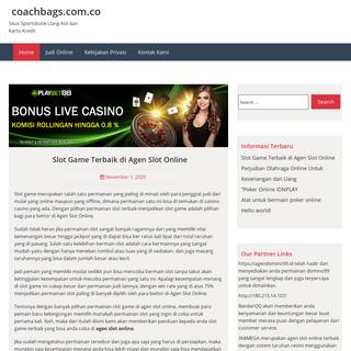coachbags.com.co - Situs Sportsbook Uang Asli dan Kartu Kredit
