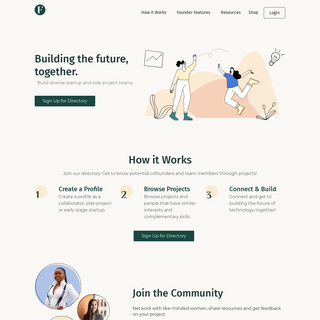 Female CoFounder - A community of motivated people