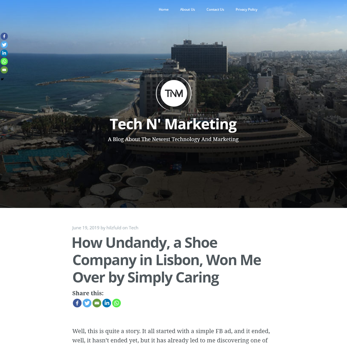 Tech N` Marketing - A Blog About The Newest Technology And Marketing