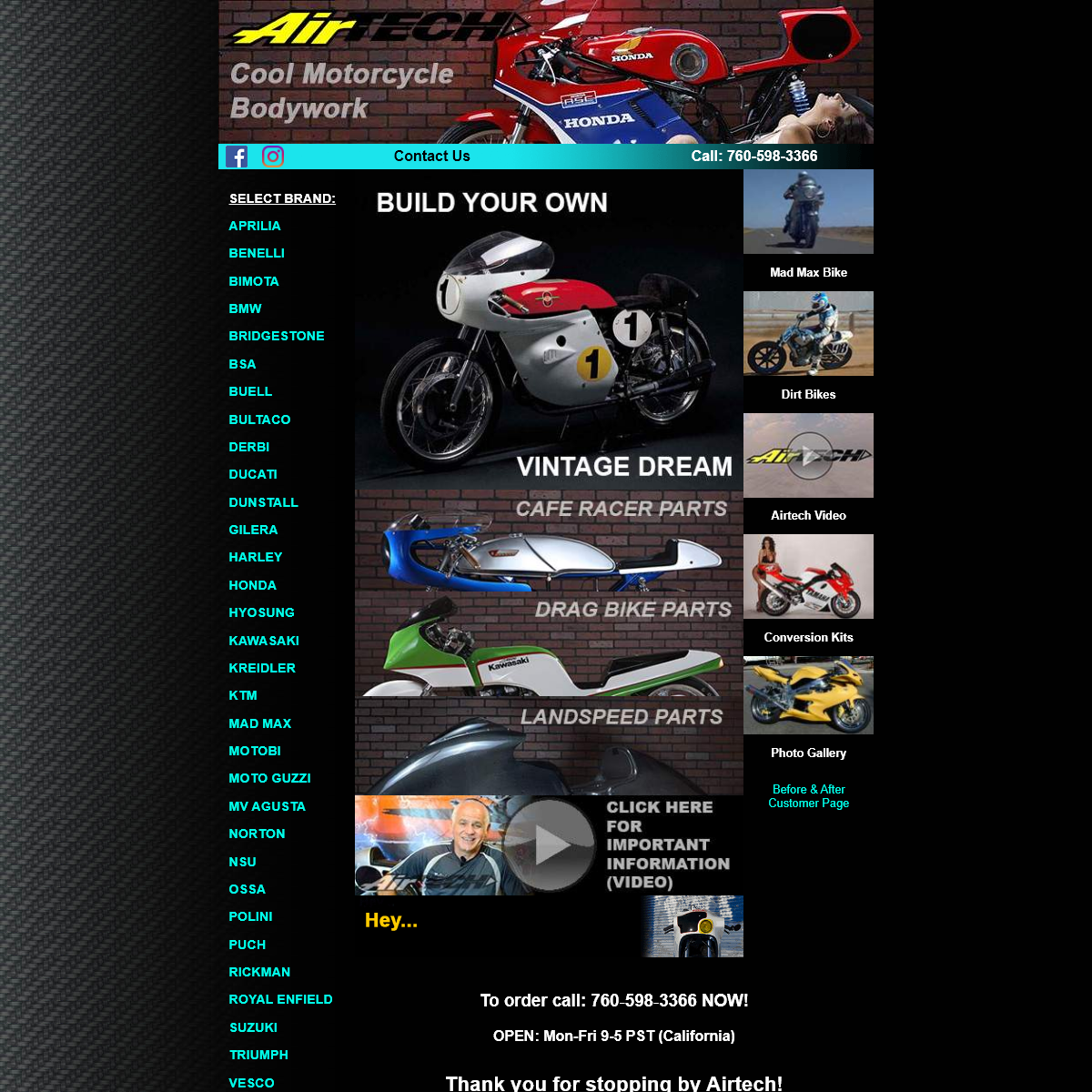 Fairings, Seats, Fenders, Tails, Belly Pans, Parts - AirTech