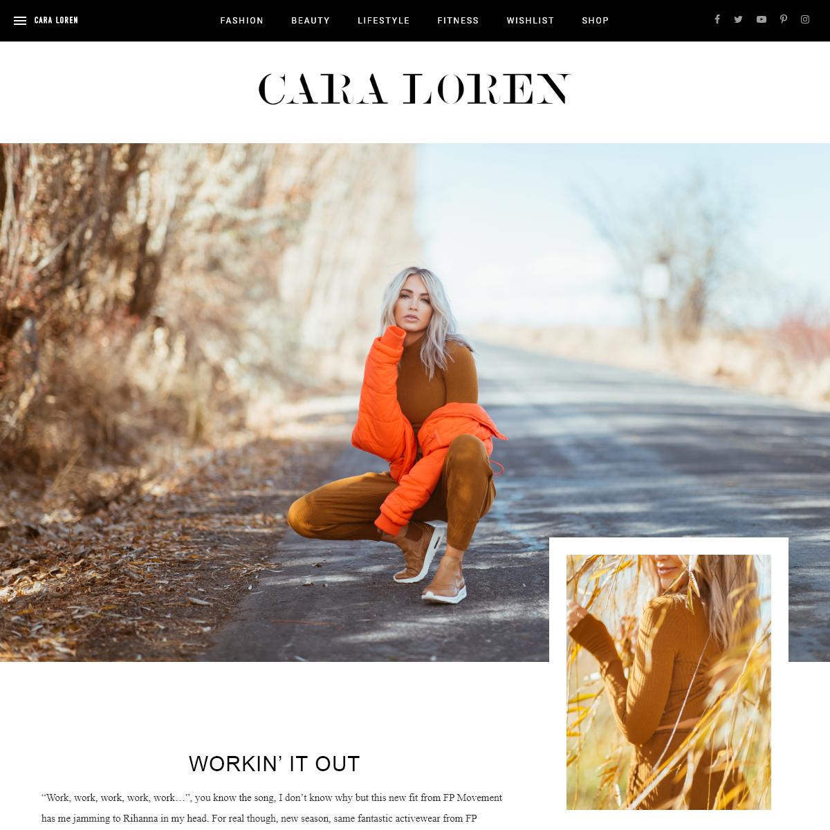 Cara Loren - Fashion Lifestyle Blog