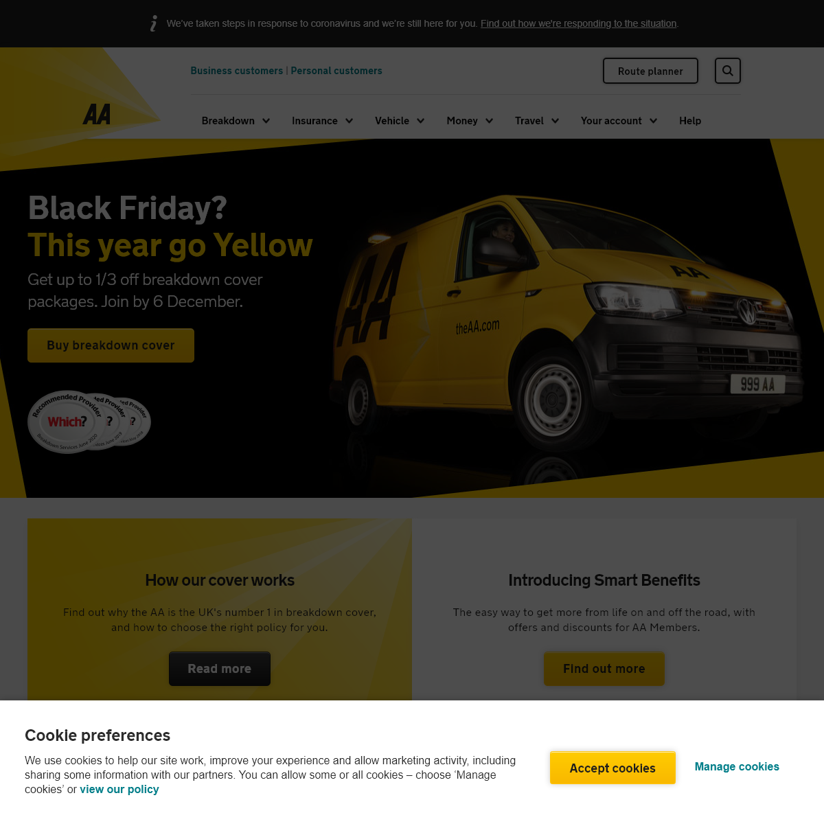 The AA - Save 33- Off Breakdown Cover - Insurance, Route Planner