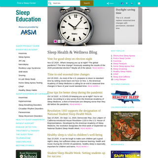 Sleep Education - Sleep Disorders Facts and Healthy Sleep Tips