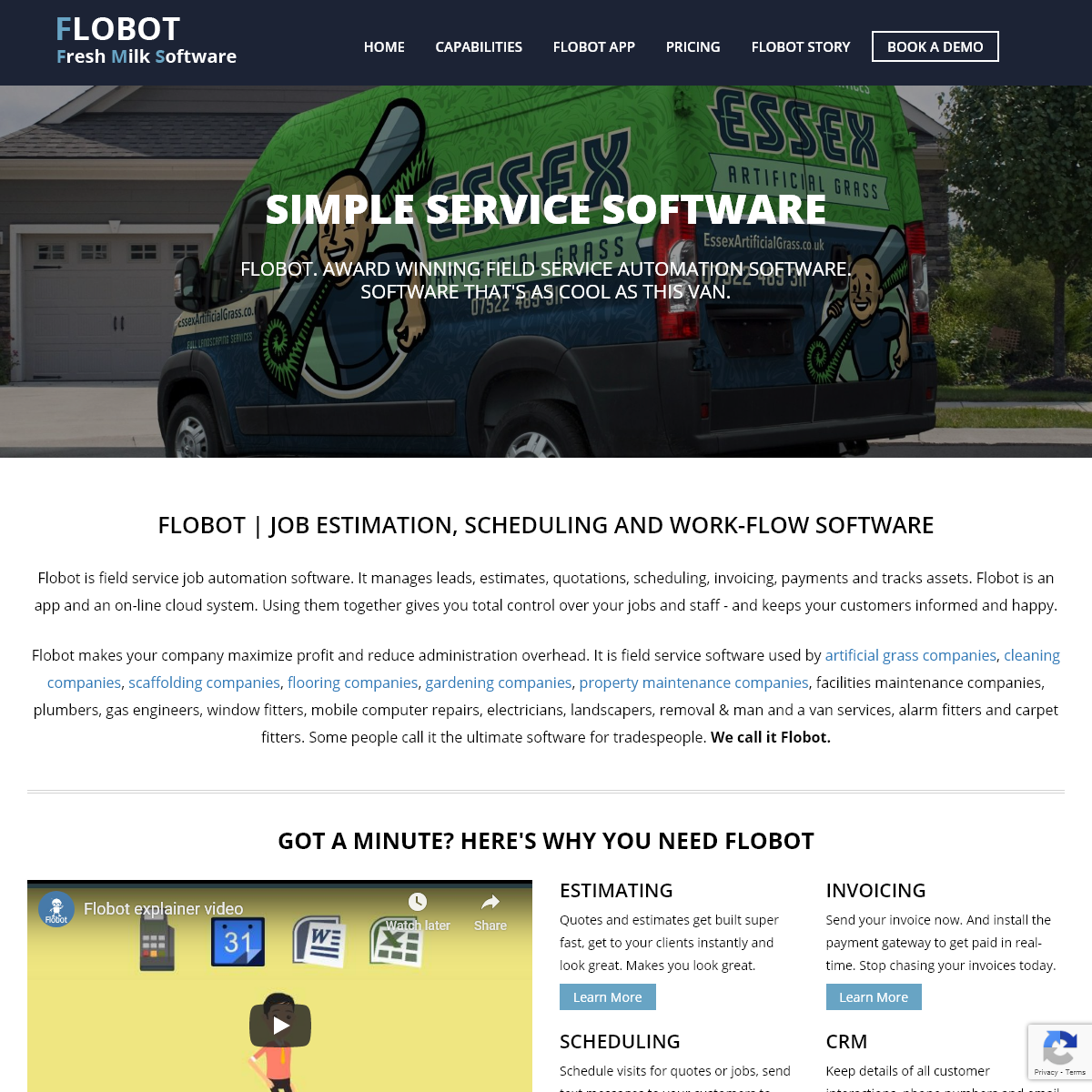 Flobot. Automation software for field service teams
