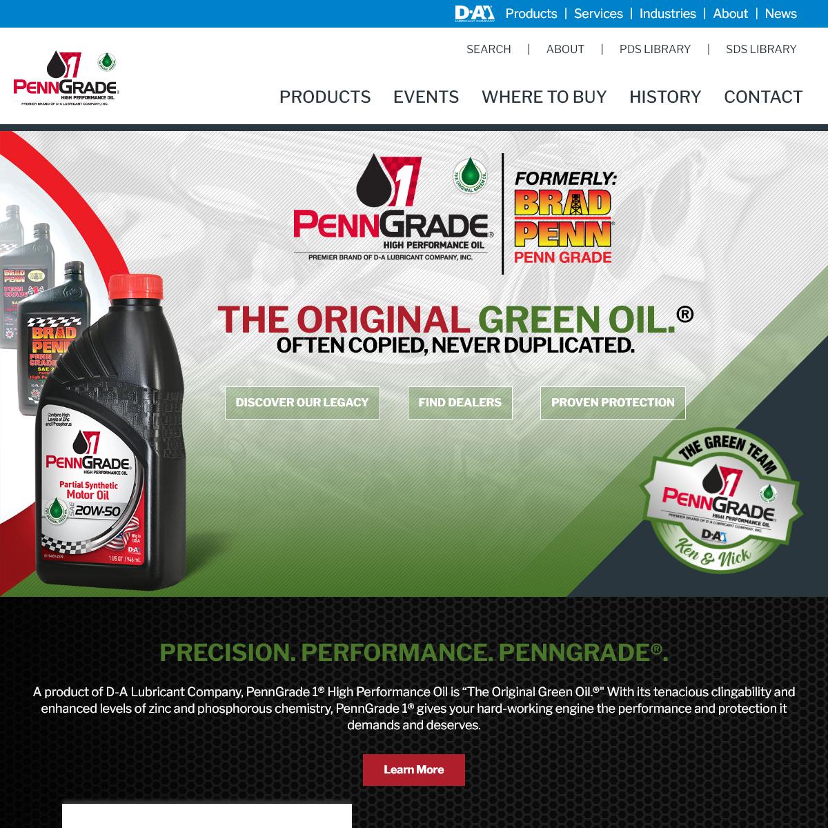 Motor Oil - Brad Penn - PennGrade 1® High Performance Motor Oil