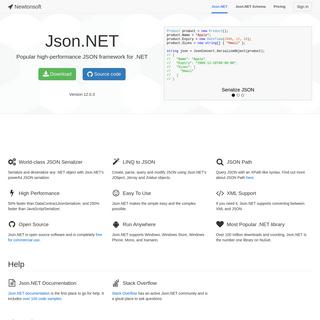 Json.NET - Newtonsoft