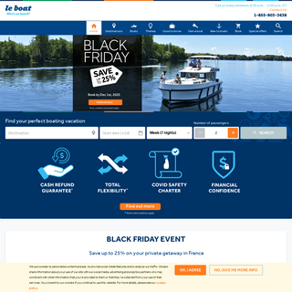 Houseboat - River & Canal Boat Rentals - Le Boat