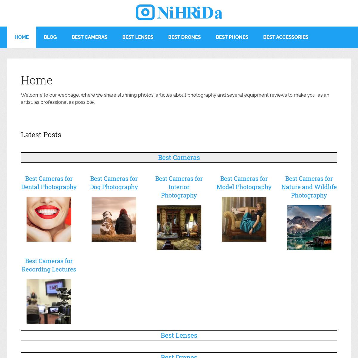 Home - NiHRiDa.com