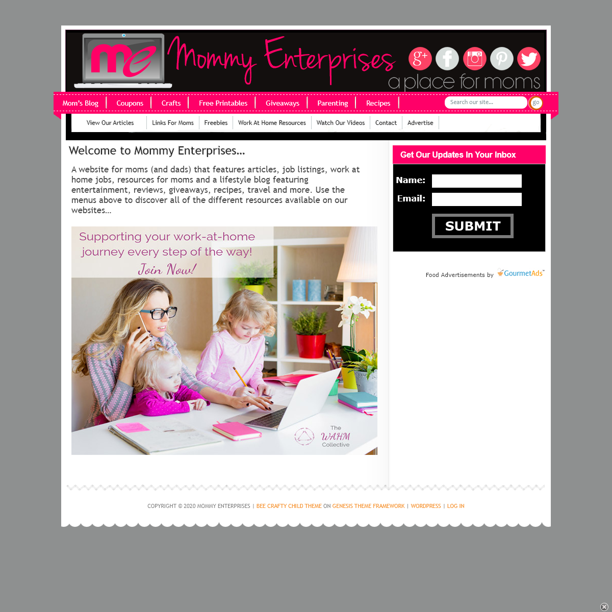 Mommy Enterprises – Work At Home Jobs For Moms and More — Helping Moms Save and Make Money At Home
