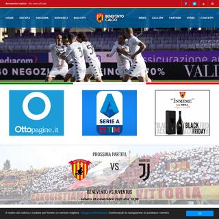 Benevento Calcio - Official Web Site
