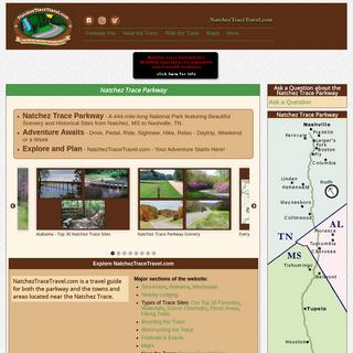 Natchez Trace Parkway - NatchezTraceTravel.com