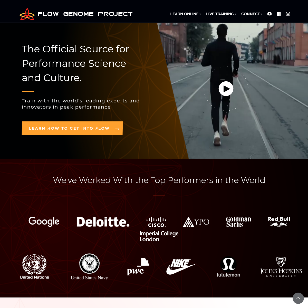Flow Genome Project- Unlocking The Next Level Of Human Performance
