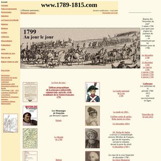 1789-1815 L`Histoire autrement