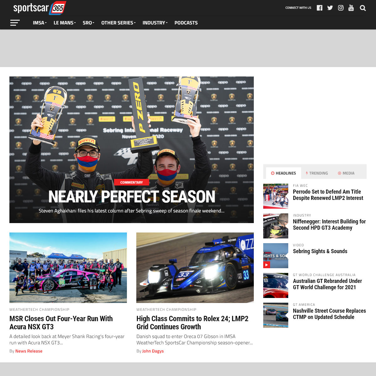 Sportscar365 - The news authority on IMSA, FIA WEC, 24 Hours of Le Mans, GT racing and more!