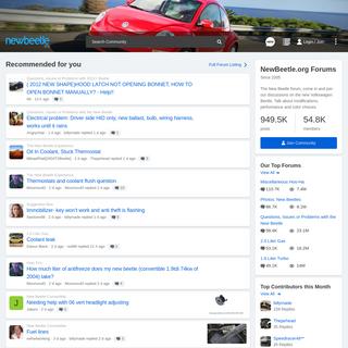 NewBeetle.org Forums