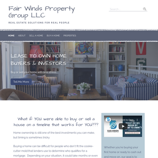 Fair Winds Property Group LLC – Real Estate Solutions for Real People