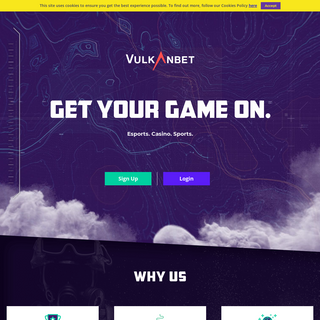 Vulkanbet – Online Casino, Live Sports and Esports betting
