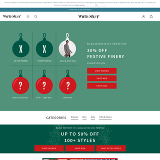 White Stuff - Clothing, Accessories, Gifts & Homeware