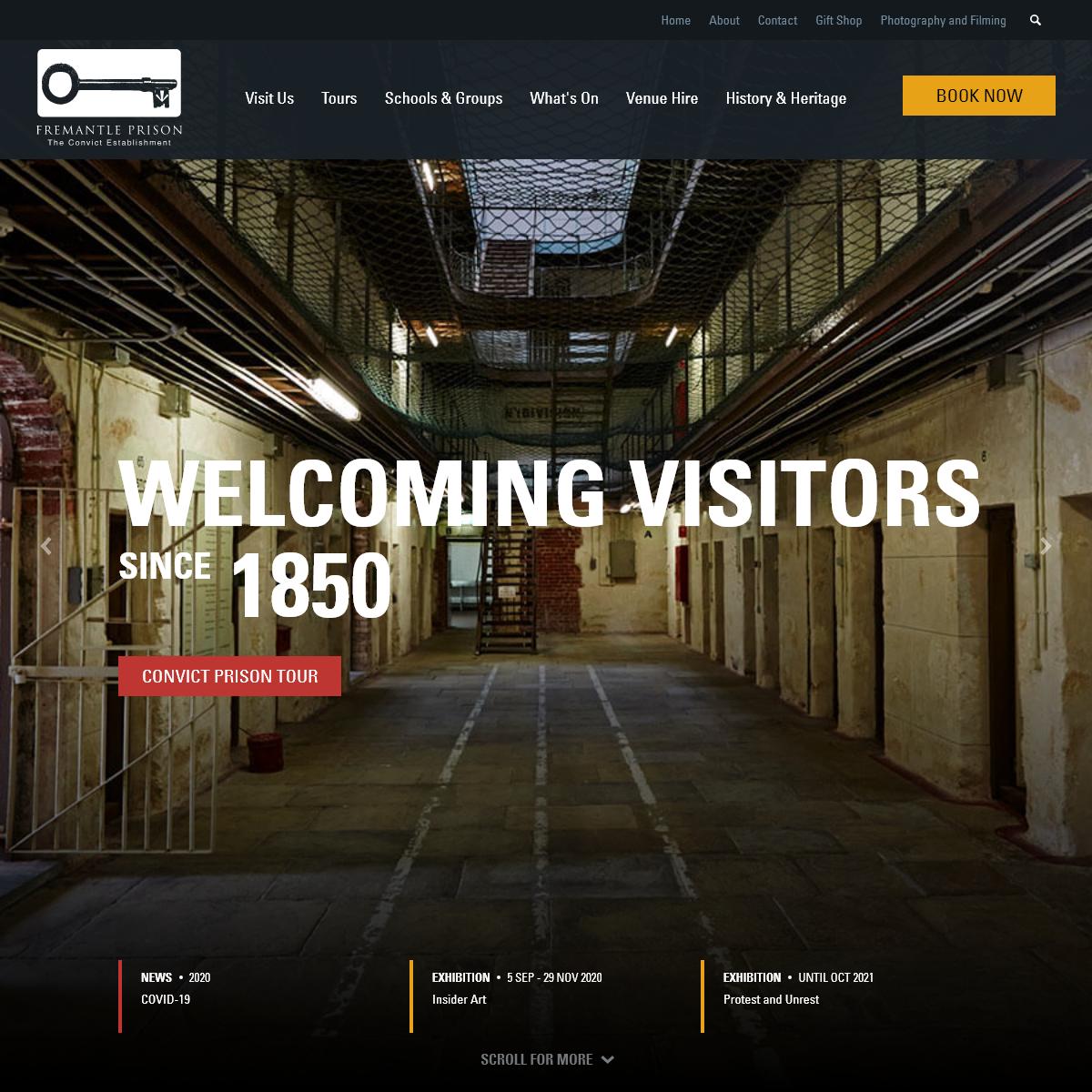 Fremantle Prison I Western Australia`s only World Heritage listed building