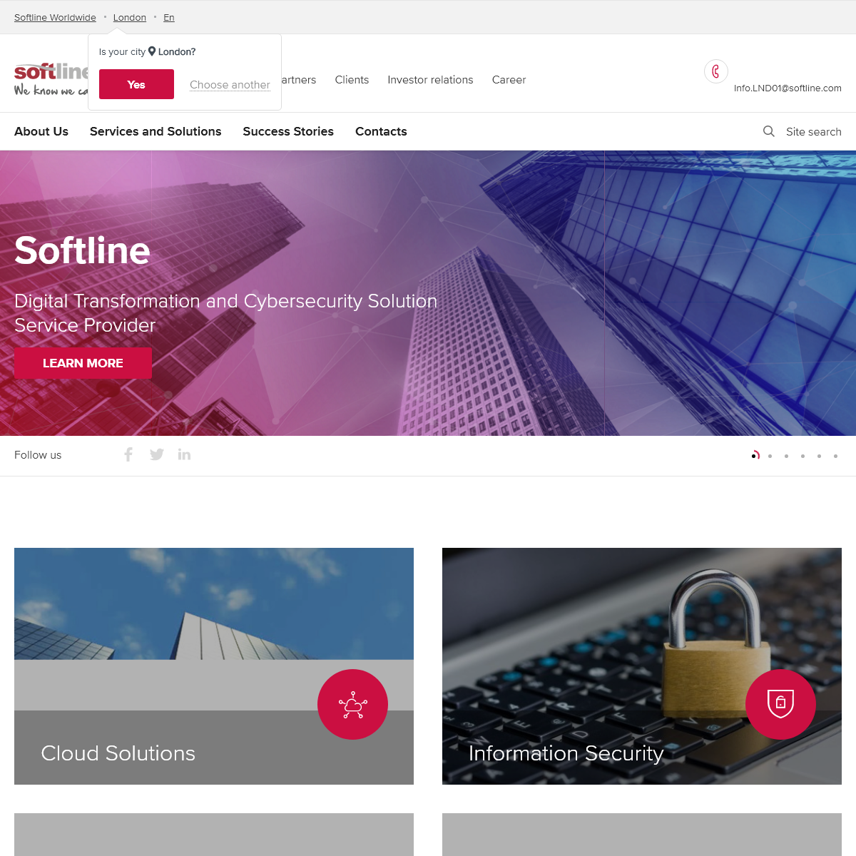 Softline – a global provider of IT solutions and services