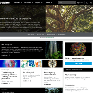Monitor Institute by Deloitte - Articles and insights - Deloitte US