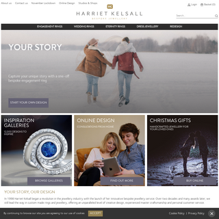 Engagement Rings, Wedding and Eternity Rings - Harriet Kelsall