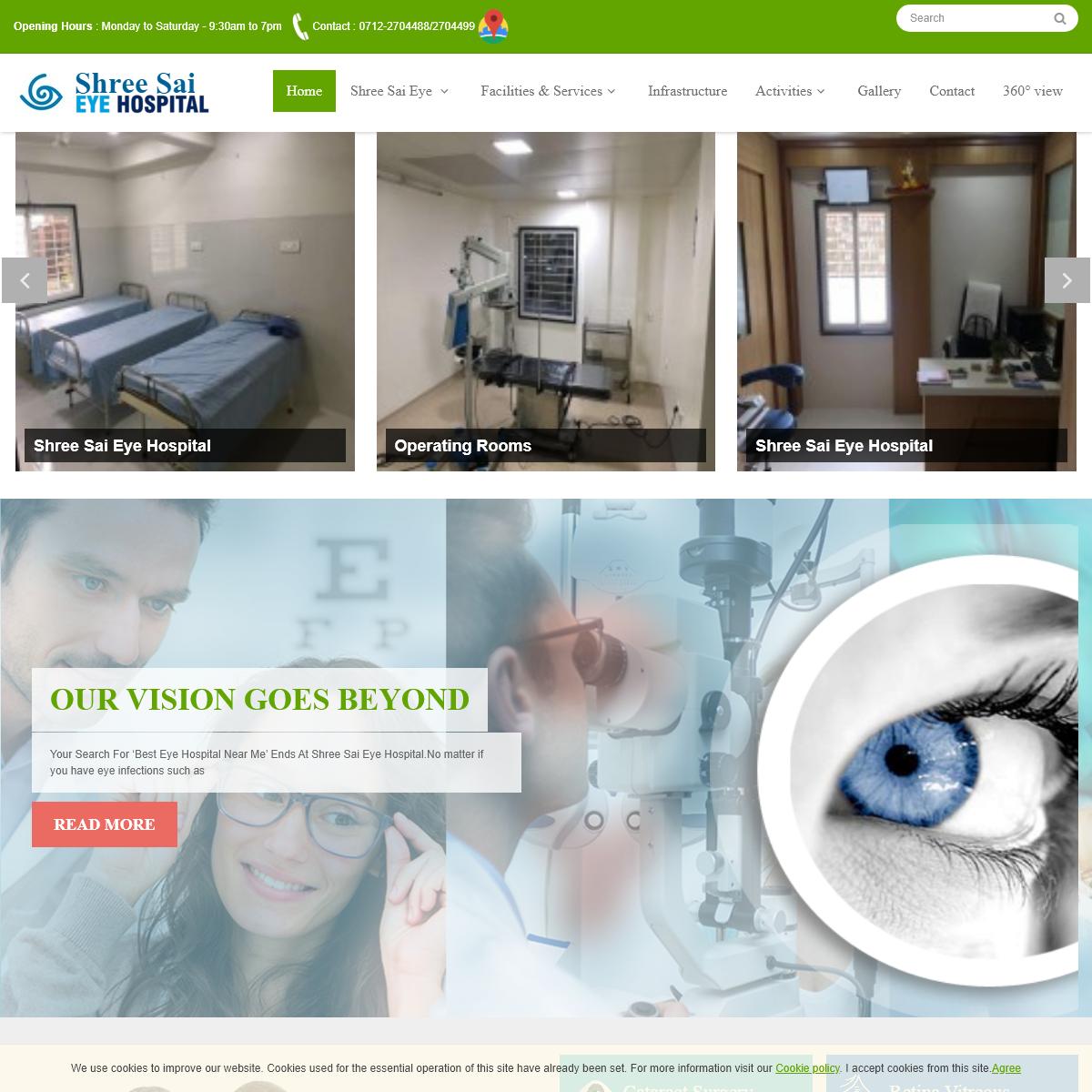 Multi Speciality Shree Sai Eye Hospital- Eye Hospital - Laser Centre in Sakkardara , Nagpur