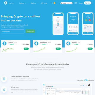BuyUcoin - Global Cryptocurrency Exchange & Wallet in India