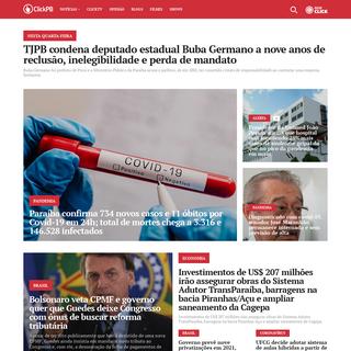 ClickPB - O portal de notícias da Paraíba sempre conectado com você