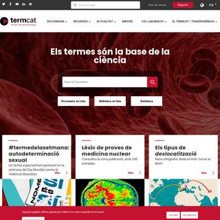 TERMCAT - Centre de terminologia de la llengua catalana