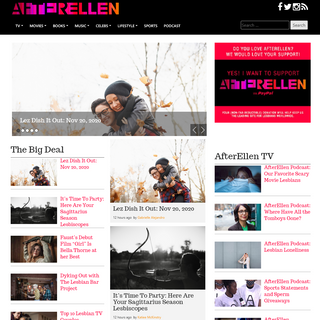 A complete backup of www.afterellen.com