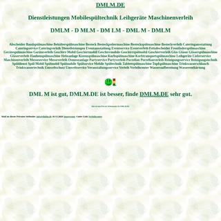 dmlm Dienstleistungen Mobilespültechnik Leihgeräte Maschinenverleih Spülmobil Verleih Geschirrmobil Mieten