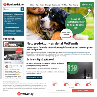 Netdyredoktor - din dyrlæge på nettet