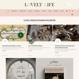 Lovelylife.se är din guide till en mer hållbar livsstil