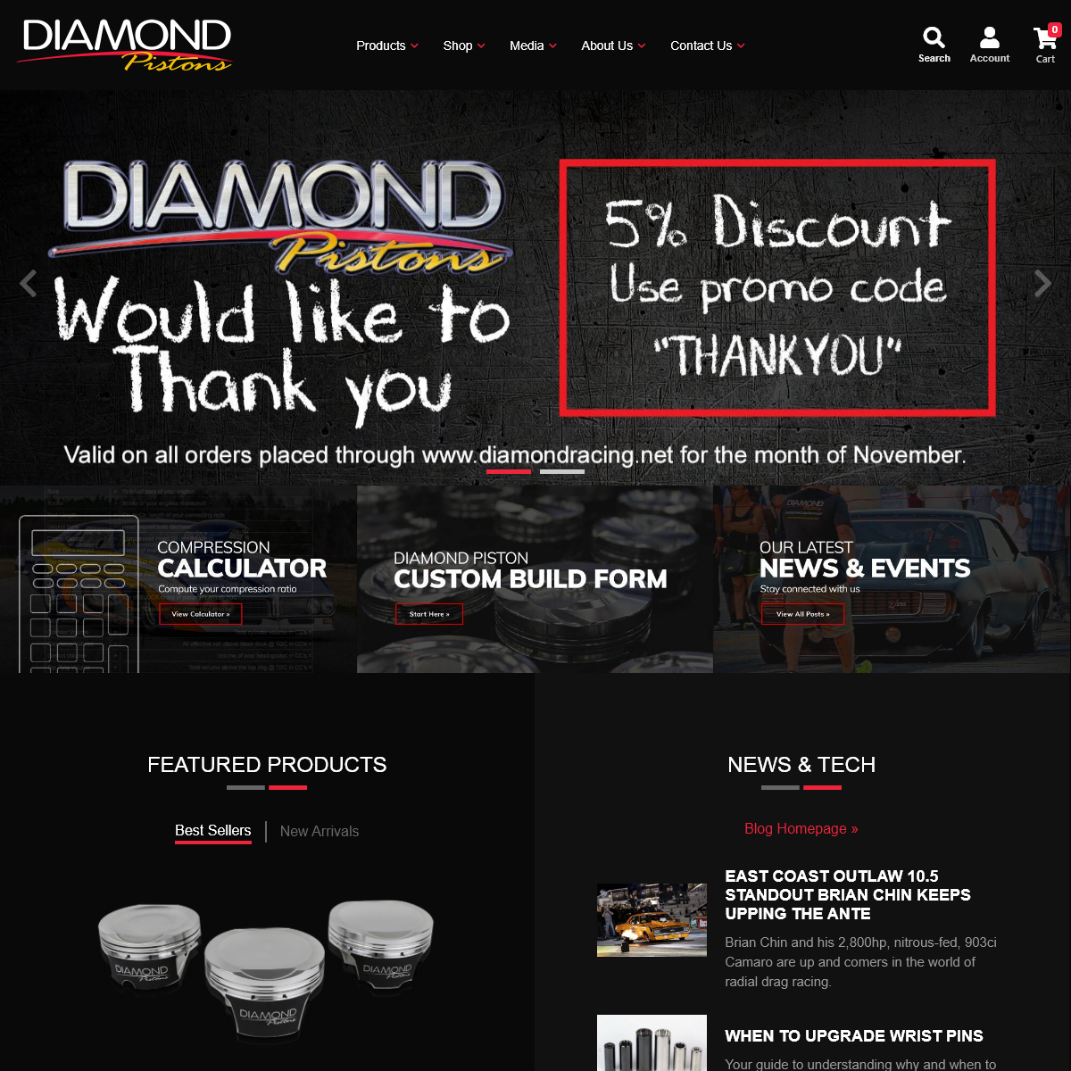 Diamond Pistons -The Proof is in the Performance-