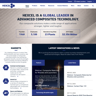Hexcel - Composite Materials and Structures