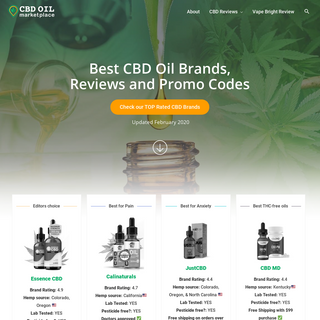 CBDistillery- Buy The Best CBD Oil Products Online With Discount